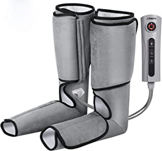 Naipo Leg Massager Cordless for Foot and Calf Massage Relaxation Battery Operated Machine with 2 Modes 3 Intensities (Upgraded)