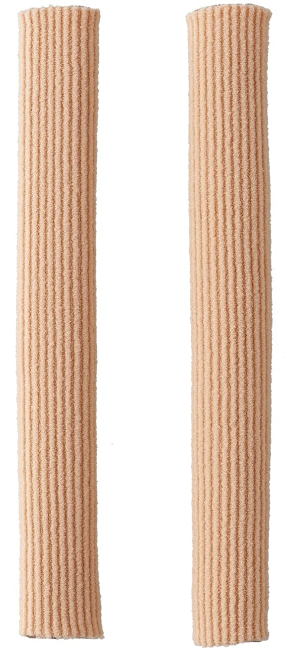 部分糸ギャザーまめ?タコの保護サック まめ たこ クッション 靴ずれ 保護 フリーカット 15cm