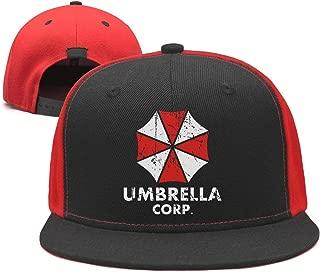 Slimerland Unisex Umbrella-corp-Resident-Evil-2- Strapback Hat Sunscreen Cap Punk Hip-hop caps