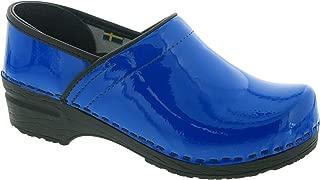 Bjork PRO ELSA Blue Patent Leather Clogs