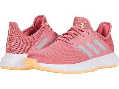adidas GameCourt (Halo Amber/Silver Metallic/Screaming Pink) Women