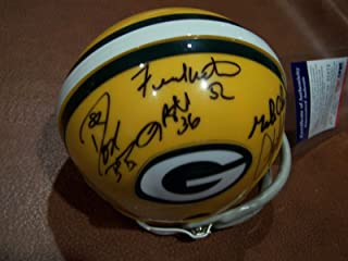 Packers Team Signed Autograph Mini Helmet Jacke Butler,winters,don Bb - PSA/DNA Certified - Autographed NFL Mini Helmets