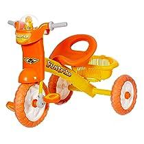 Dash Stylish Kids Tricycles with Backrest Seat, Back Storage Basket