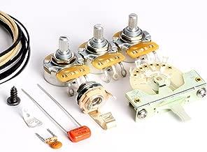 ToneShaper Guitar Wiring Kit, For Fender Stratocaster, SSS2 (Modern Wiring)