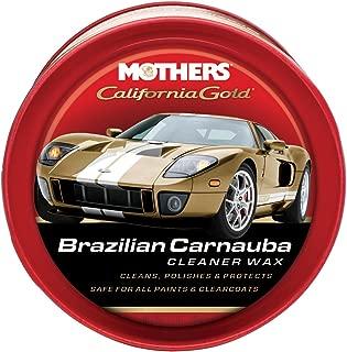 Mothers 05500 12 Oz California Gold Original Formula Carnauba Cleaner Wax