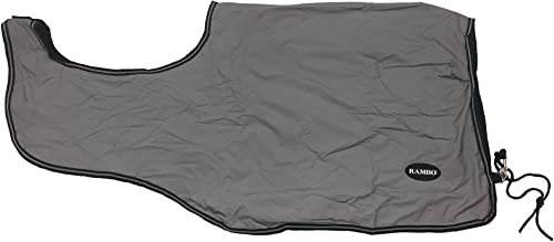 Horseware Rambo Nightrider Concurrence Drap X Large (5ft3) Argent Noir
