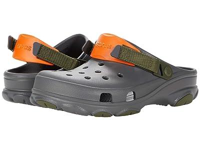 Crocs Classic All Terrain Clog (Slate Grey/Multi) Clog Shoes