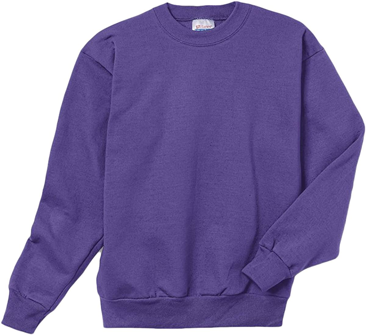 Hanes 7.8 oz Youth ComfortBlend EcoSmart Fleece Crew: Clothing