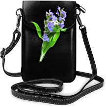Small Crossbody Bags Cannabis Officinalis Cell Phone Purse With Credit Card Slots Wallet Shoulder Bag For Women And Teen Girls