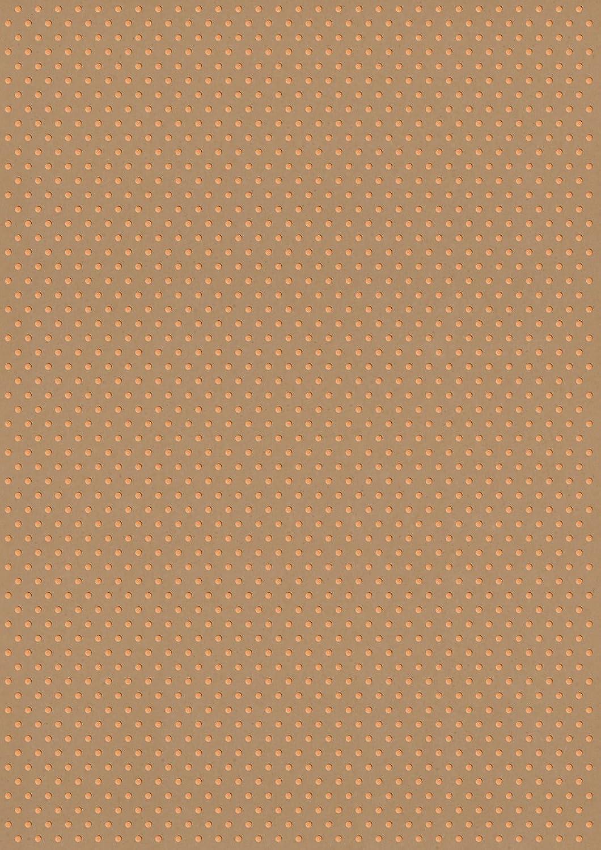 Rössler Rössler Rössler Papier - - Kreativ Designblatt A4- Polka Kraft HF kupfer - Liefermenge  50 Stück B07CX3QY24 | Elegant  b1ae5e