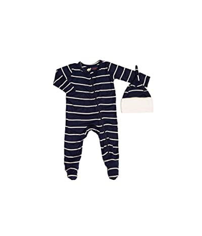 Everly Grey Footie Two-Piece Set (Infant) (Navy) Men