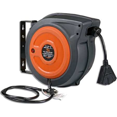 Cable Reel Extension Cord Hook up Pdu 230V 16A Heavy Current Construction Sites