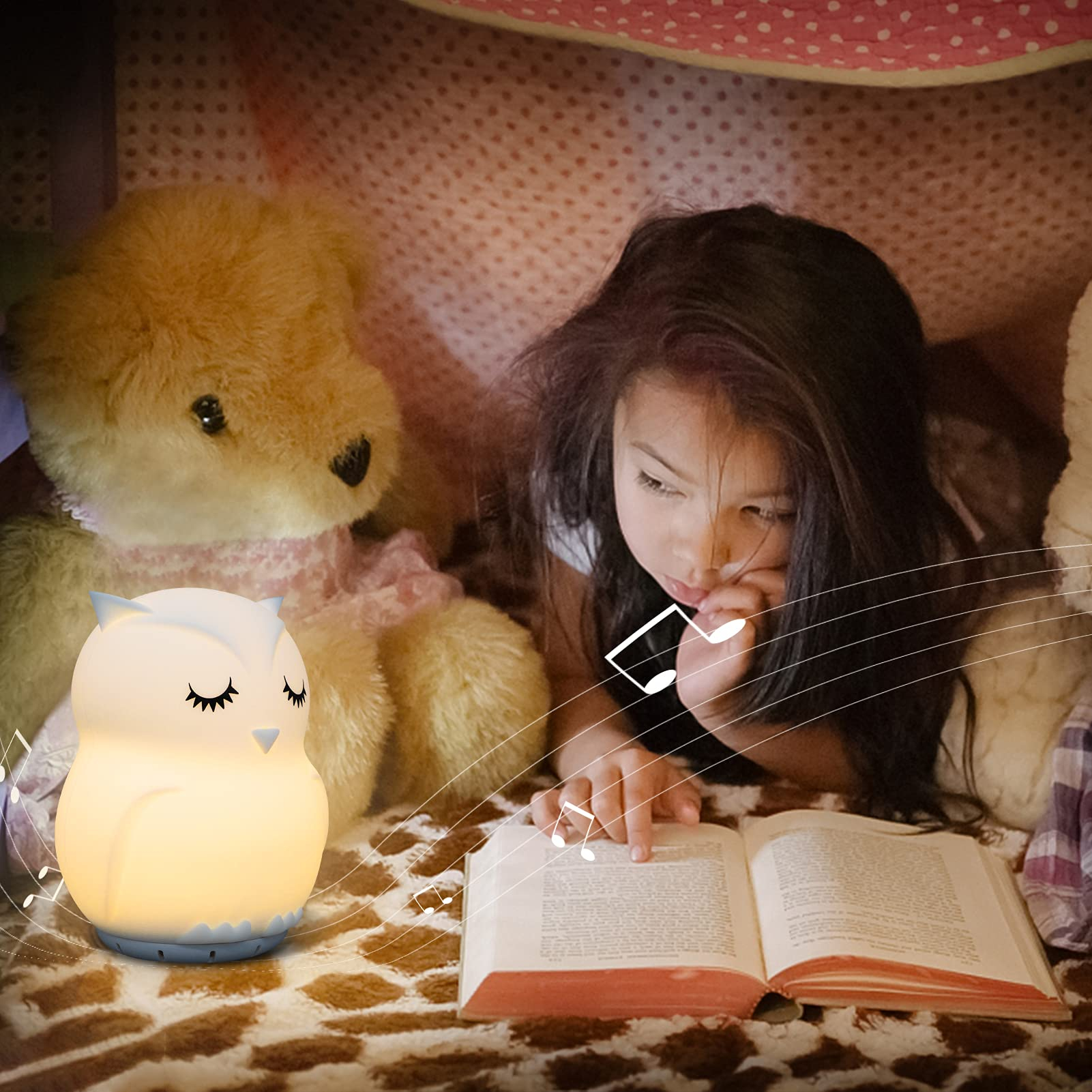 F/ête No/ël Ambiance Romantique Rechargeable Alxcio Veilleuse R/étro Night Light LED Lampe pour Les B/éb/é Enfant D/écorer La Chambre Maison ou Le Bureau Design aux chandelles Table