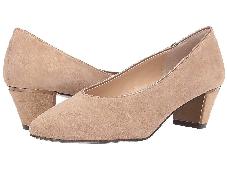 J. Renee Clarion (Taupe Suede/Patent) Women