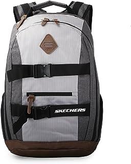 Skechers Fashion Backpack, Unisex - Grey