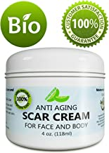 Anti Aging Scar Cream for Face and Body - Scar Removal Cream for Old Scars New Scars & Stretchmarks – Diminish Dark Spots With Anti-aging Antioxidants Vitamin E Jojoba & Cocoa Butter – by Honeydew