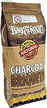 Bayou Classic 500-416, 16-lbs Bag Natural Charcoal Briquets