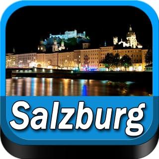 Salzburg Offline Map Travel Guide (Kindle Tablet Edition)