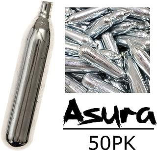 Asura 12g CO2 Cartridges, Pack of 50
