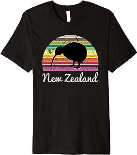 New Zealand Tshirt Kiwi Bird Holiday Gift Tee Shirt