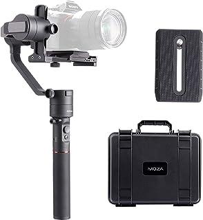 MOZA AirCross Gimbal Estabilizador Reflex 3 Ejes 12 Horas de Tiempo de ejecución con Fuente de alimentación Inteligente para cámaras sin Espejo Serie Sony Alpha A7 Serie Panasoni