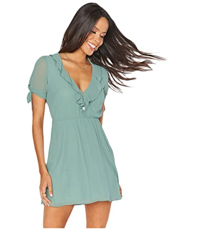 Show Me Your Mumu Natasha Mini Dress (Sage) Women