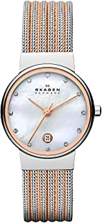 Skagen Women's Ancher Two Tone Silver Watch