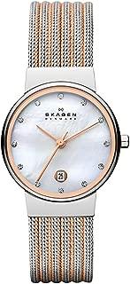 Skagen Women's Ancher Two Tone Silver Watch