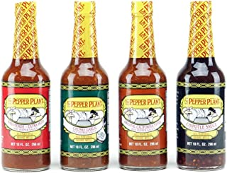 The Pepper Plant Hot Sauce 4-pack