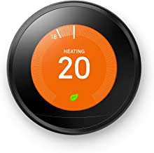 Nest Learning Slimme Thermostaat, Zwart