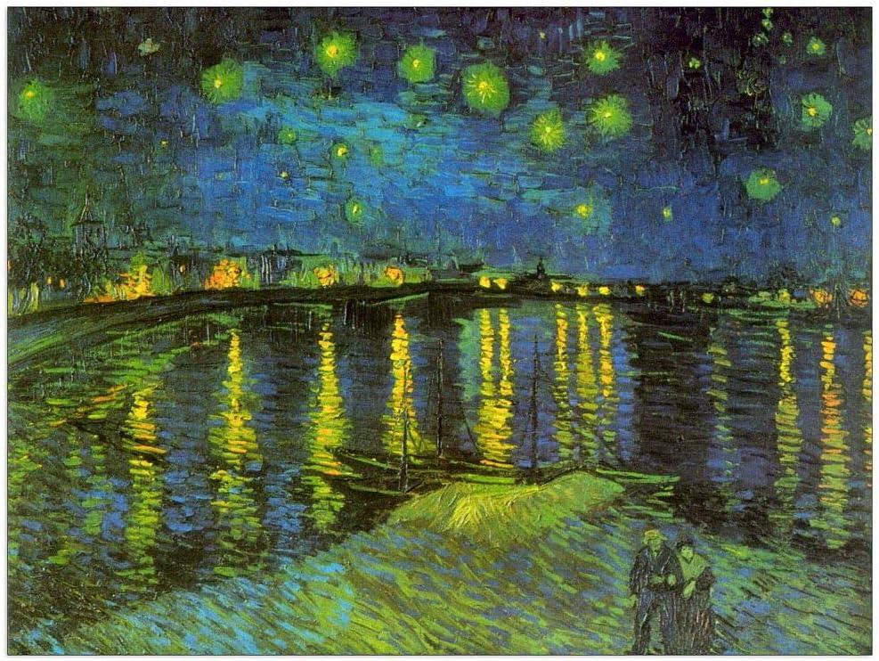 ArtPlaza Van Gogh Vincent - Genuine Decorative Rhone 35.5x27.5 In Panel Max 50% OFF