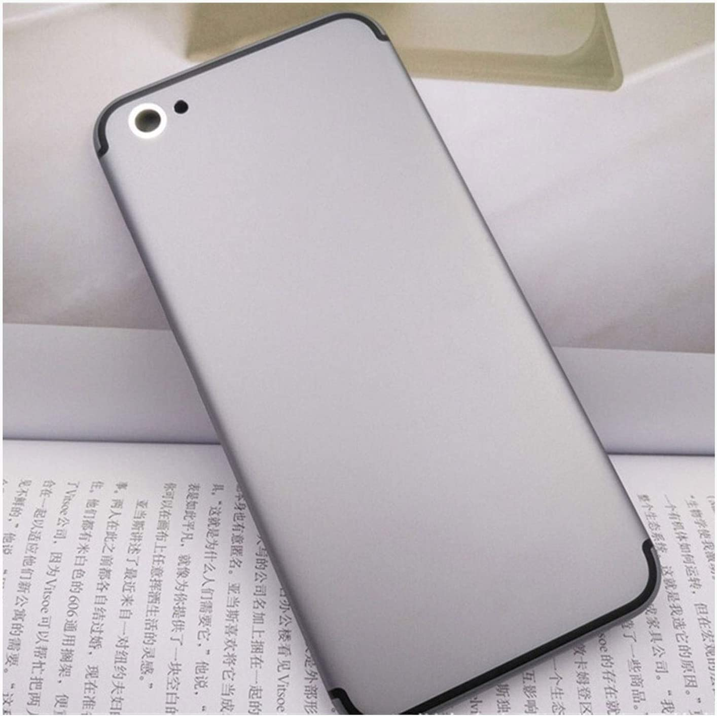 QINGMEI Battery Max 46% OFF Cover Rear Glass Repair Back SEAL limited product kit She Phone