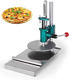 VEVOR Household Dough Manual Pizza Pastry Stainless Steel Press Machine, 7.87inch