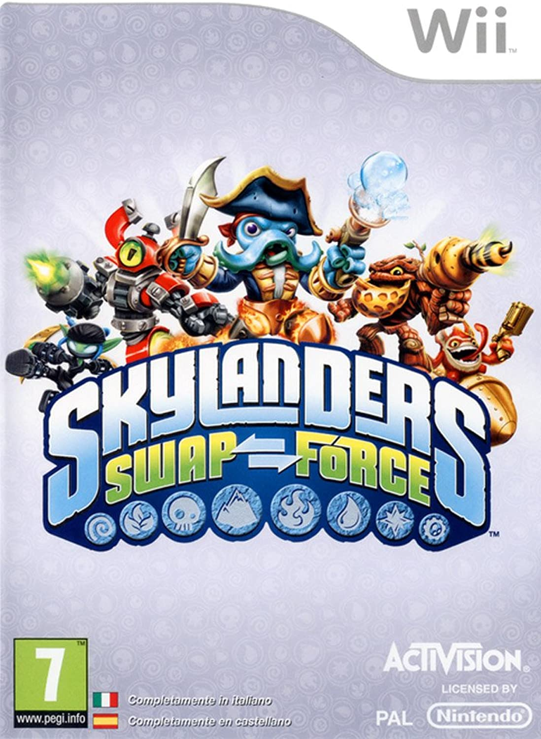 Wii Skylanders Swap Force (GAME ONLY) ONLY) ONLY) 3ef37a - qyreq