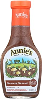 Annies Homegrown Shiitake & Sesame Vinaigrette, 8 Ounce (Pack of 6)