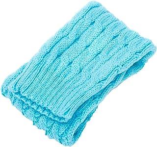 Mujeres Invierno Caliente Piernas Calentadores De Punto Crochet Calcetines Largos Calcetines De Alta Rodilla Tobilleros Antideslizantes