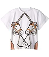 Burberry Kids - Double Unicorn Tee (Little Kids/Big Kids)