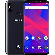 "BLU Studio Mega 2018-6.0"" HD Unlocked Smartphone with Dual Main Camera -Black"