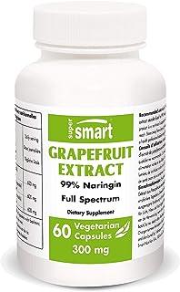 Supersmart - Grapefruit Extract 300 mg - Standardized to 99 % Naringin - Weight Loss Pills - Immune System ...