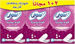 Sofy panty liner (Clean & pure) Unscented 2+1 (120) PADS