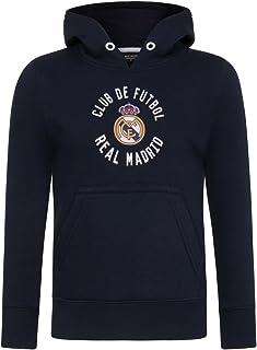 c00cc675ef2 Real Madrid - Sudadera Oficial con Capucha - para niño - con el Escudo del  Club
