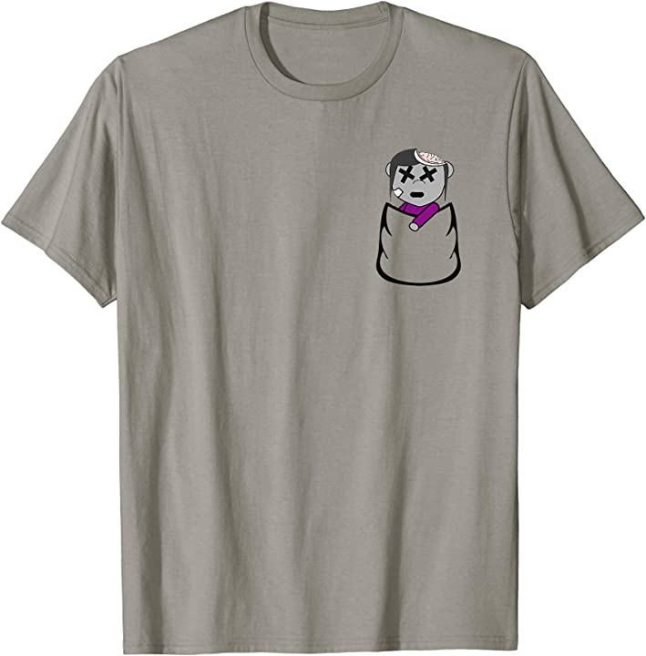 Zombie In A Pocket - Halloween T-Shirt
