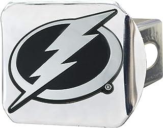SLS FANMats Anaheim Ducks Premium Heavy Duty Solid Metal Color Chrome Hitch Cover Bumper Trailer Hockey