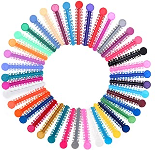 Orthodontic Ligature Ties Multi-Color Orthodontic O-rings Braces Rubber Bands (1040pcs)