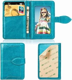 Ropigo Cell Phone Wallet 3M Adhesive Sticker Back of Smartphones ID Credit Card Holder Pouch Sleeve for Sony Xperia XZ XZ3 10 Plus 1 2019 XA2 XA1 Ultra Dual XZ1 XZ2 L1 L2 Z5 XZ Sky Blue
