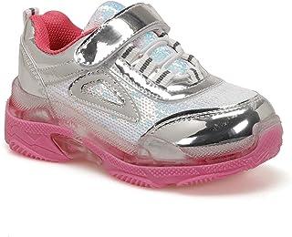 512292.P Gümüş Kız Çocuk Spor Ayakkabı
