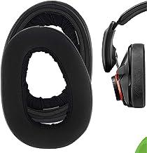 Geekria Comfort Hybrid Velour Replacement Ear Pads for Sennheíser GSP 600, GSP 670, GSP 500 Professional Gaming Headphones...