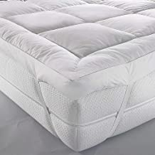 Mattress Topper 90 x 190 cm, 500GSM Soft Dacron Sheet Filling with Microfiber Outer