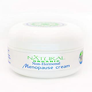 Non-hormonal MENOPAUSE INTENSIVE RECOVERY DETOX CREAM.Organic Oils & Plants.Carcinogen-Free Certified.Heals Skin,Soothes M...