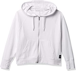 Calvin Klein Women's Long Sleeve Hooded Sweatshirt Jacket